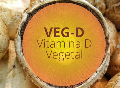 VEG-D - Suplementação natural de vitamina D