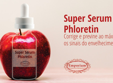 Super Serum: Vitamina C Concentrada + Ácido Ferúlico + Phloretin. Potente anti-aging