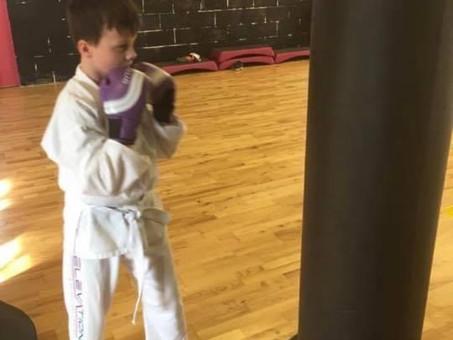 B-smart's Bradley Horler hits Black Belt status