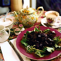 Fresh beetroot salad