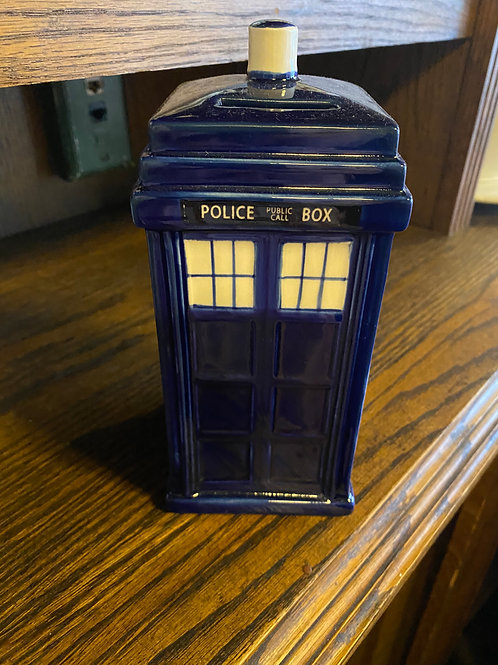 Dr Who Piggy Bank