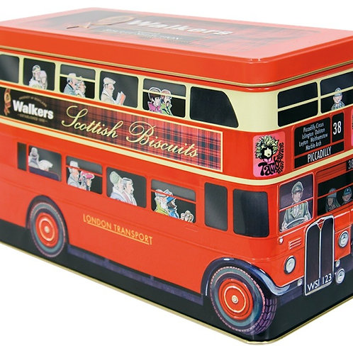 Walkers London Bus Tin of Scottish Shortbread