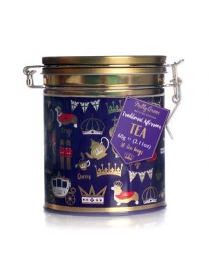 Milly green Yappy Christmas Biscuit tin