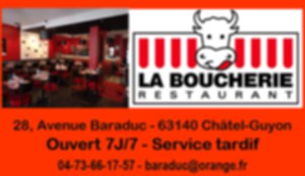 LA BOUCHERIE RESTAURANT CHATEL-GUYON.PNG