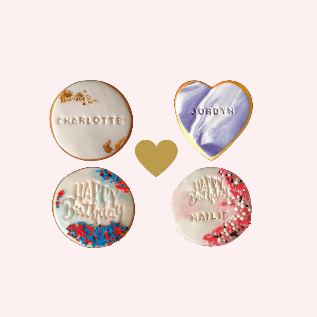 Personalised Vanilla Cookies