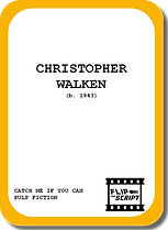 Flip the Script | Cast Card - Christopher Walken