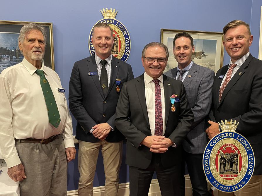 Quatuor Coronati Circle Meeting Adelaide