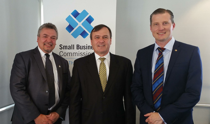 With the Small Business Commissioner