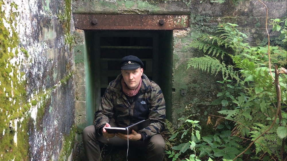 Klovekorn the Relic Hunter on location in Germany
