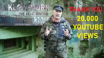 20,000 views Klovekorn the Relic Hunter!