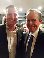 Henning A. Klovekorn with Bill Shorten 0