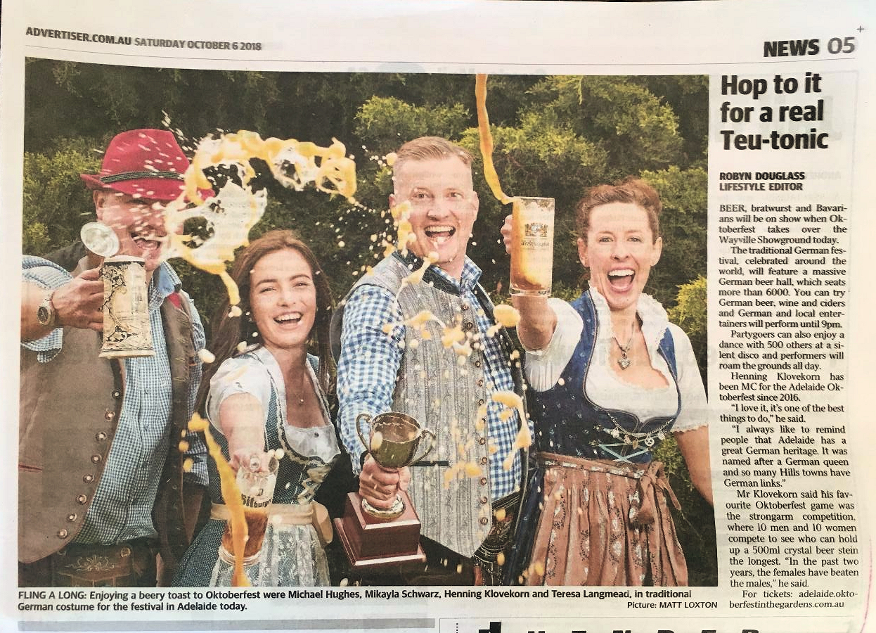 Advertiser Article Oktoberfest Adelaide