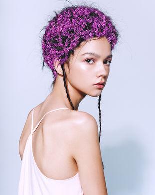 Color Correction purple hair