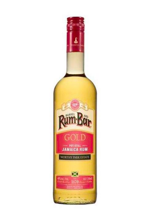 Rum-Bar Gold - Jamaican Rum 750ml