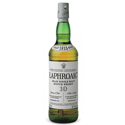 Laphroaig - 10yr Single Malt Scotch Whiskey