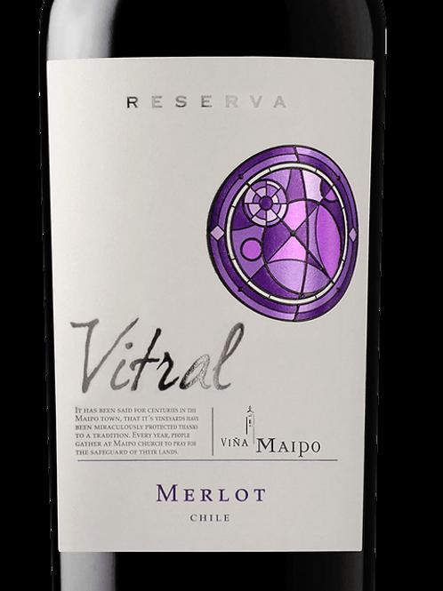 Vina Maipo - Vitral Merlot Reserva