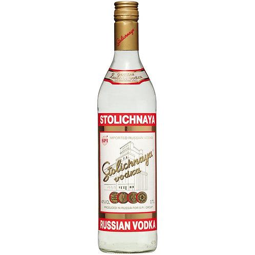 Stolichnaya (Regular & Flavors) - 1L