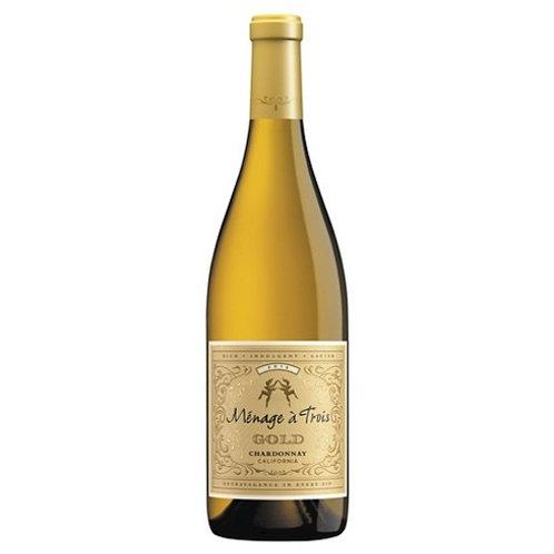 Ménage a Trois, Gold Chardonnay