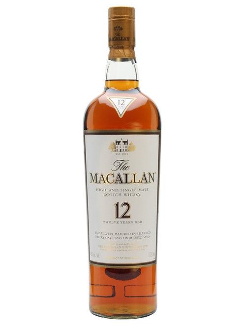 The Macallan, Sherry Oak 12yr