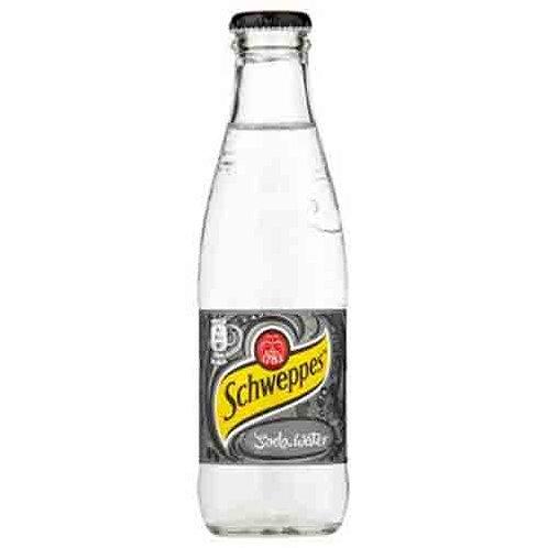 Schweppes, Club Soda - 250ml (case)