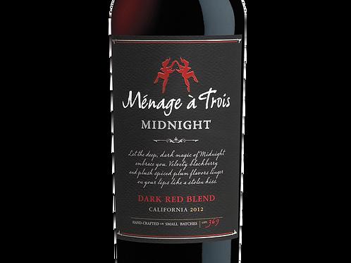 Ménage à Trois, Midnight - Dark Red Blend