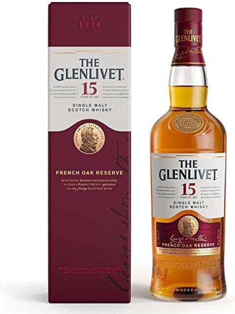Glenlivet 15yr Single Malt 750ml