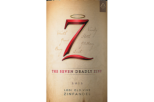 The Seven Deadly Zins, Lodi - Zinfandel