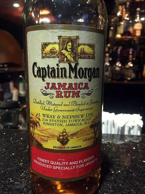 Captain Morgan Gold Rum, Jamaica - 750ml