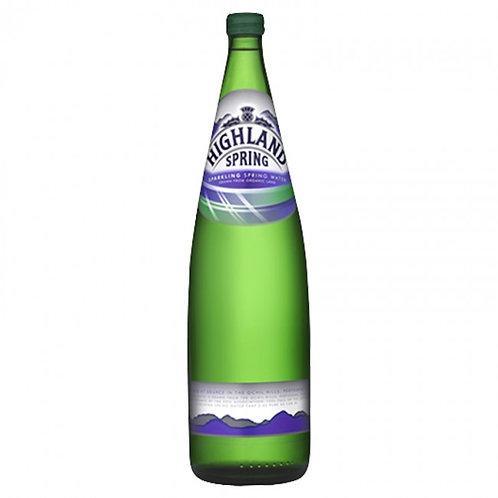 Highland Spring, Sparkling Water - 1L (case)