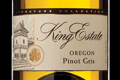 King Estate, Signature Series - Pinot Gris