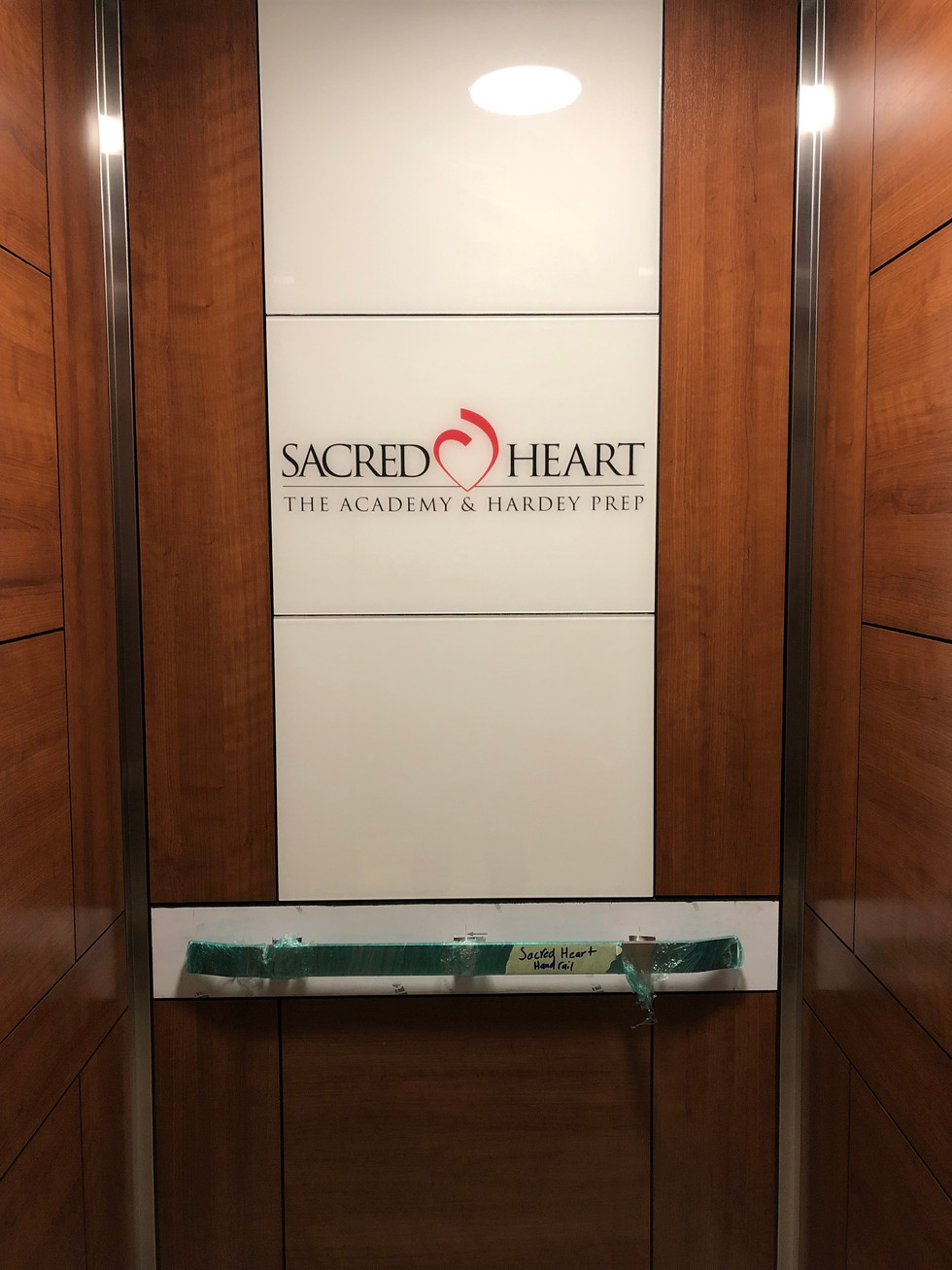 Sacred Heart - Elevator Interior