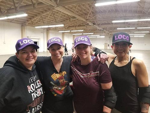 Loco Glitter Hats