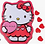 Thumbnail: HELLO KITTY SWEET HEARTS TIN W/ CHERRY CANDY