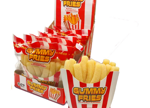GUMMY FRENCH FRIES 7.05 OZ PACKAGE
