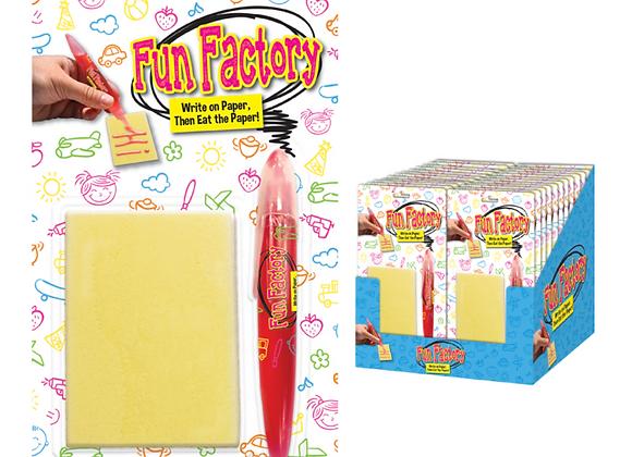 FUN FACTORY WRITE & EAT PAPER CANDY 1.16OZ