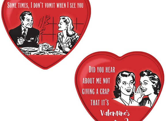 VALENTINE LOVE BITES MEME TIN W/ SIXLETS 1.76 OZ