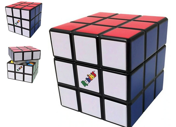 RUBIKS CUBE TIN W/ FRUIT SOURS