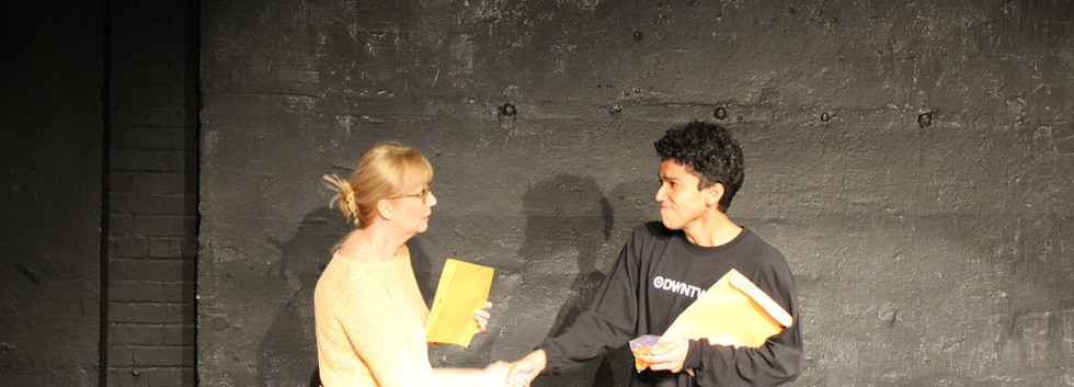 FIVE O'CLOCK IN A QUIET TOWN By Gina Stevensen Directed by Will Steinberger