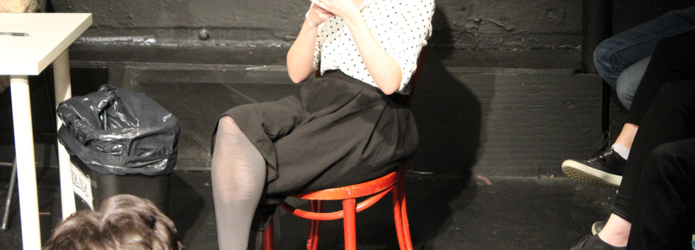 ASKING PERMISSION by Julián Mesri, directed by Robert A.K. Gonyo