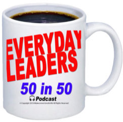 Everyday Leaders 50in50 Mug and Bonus Round Tuit Coin