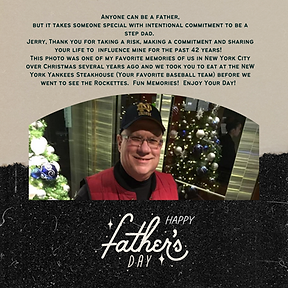 My Father's Day CHALLENGE for You Today.  Celebrating Influencers in My Life This Father's Day