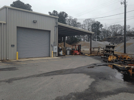 Back/Side of Warehouse