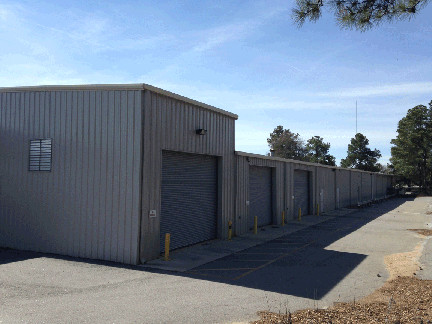 Back Right Side of Warehouse