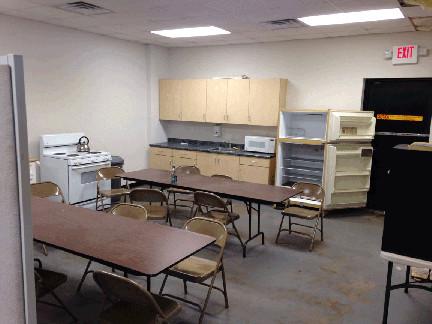 Warehouse Break Room