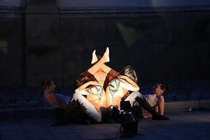 Pouliční divadlo - Liška v pohybu