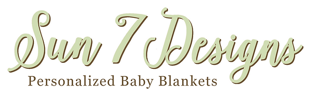 Sun 7 designs baby blankets alberta personalized baby blankets more negle Images