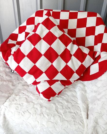 KOCKICE -  jastuk, prekrivač