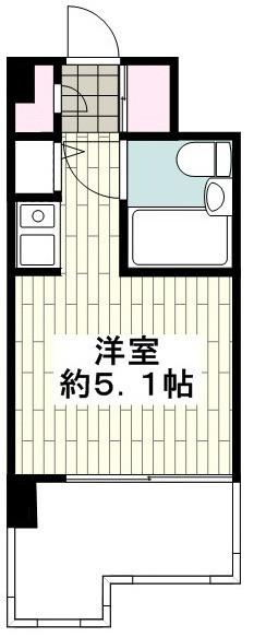 [3階]の間取り