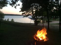 Making memories around the campfire!
