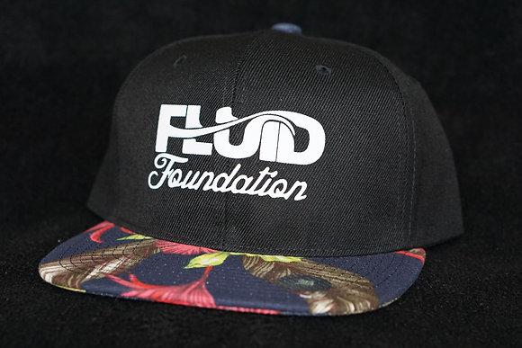 FLORAL BILL HAT